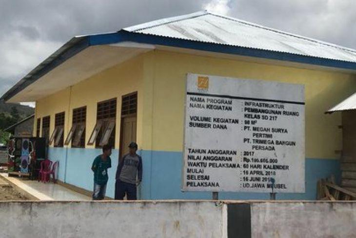 Tingkatkan Pendidikan, PT Harita Nickel Membangun Gedung Sekolah di Halmahera