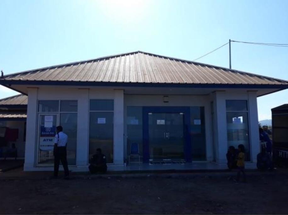 PT. Harita Group Bekerjasama Dengan BRI Bangun Dua Unit Mesin ATM di Obi