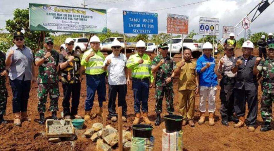 Pangdam Pattimura Apresiasi Keberadaan Harita Nickel di Pulau Obi