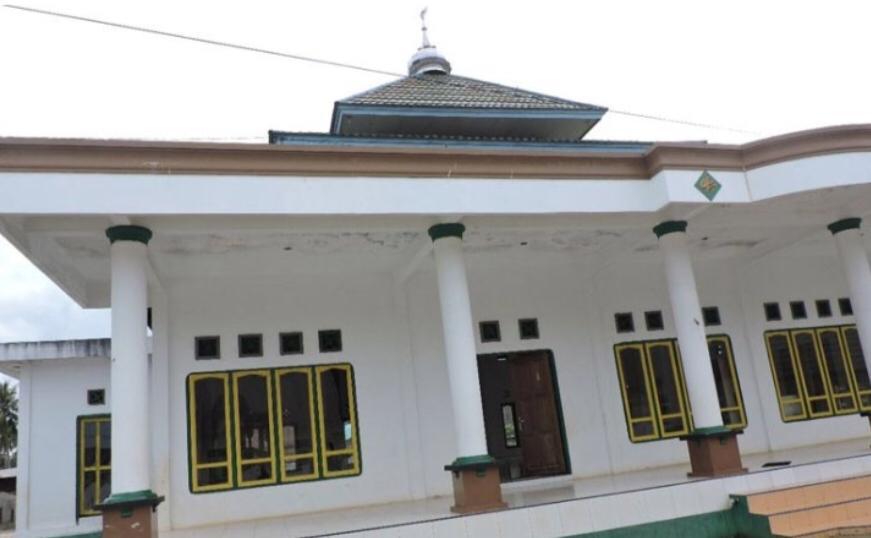 Tempat Ibadah di Kawasan Terpencil Halmahera Selatan Sudah Kokoh Berdiri