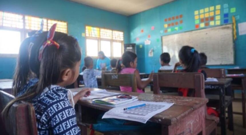 Selama Ramadhan Puluhan Siswa SDN 217 Halsel Dapatkan Kelas Gembira dari Harita Group