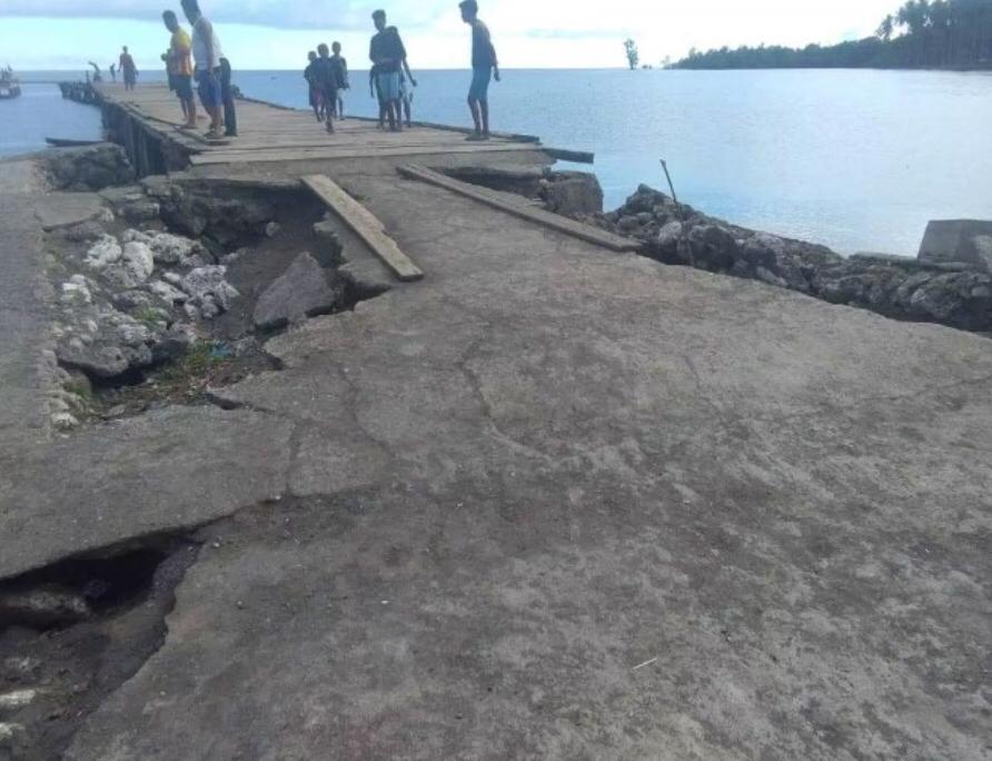 Ketua FA Kepulauan Obi Minta Pemda Halsel Perhatikan Jembatan Rusak