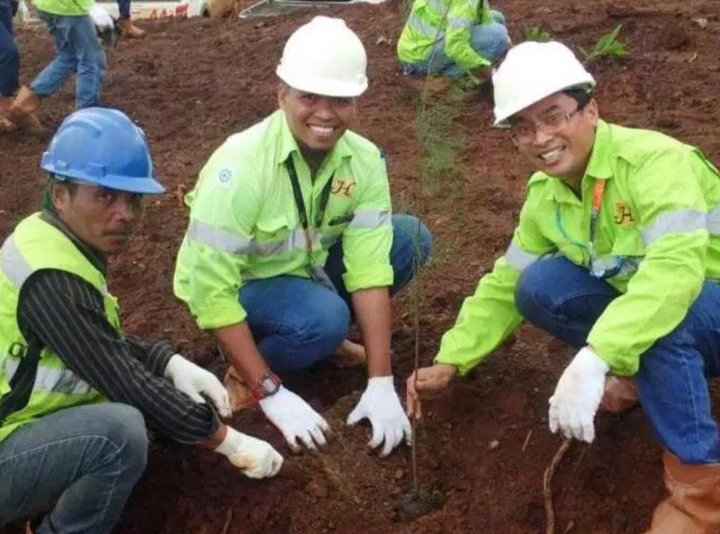 Peringati Hari Lingkungan Hidup Sedunia, Harita Nickel Tanam Seribu Pohon