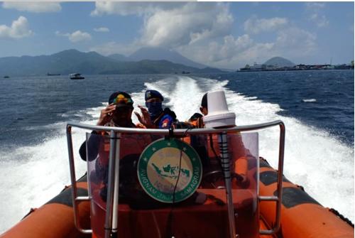 Longboat Tenggelam Di Perairan  Halmahera Barat