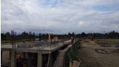 Pembangunan Gor Halmahera Selatan Ditargetkan Selesai Akhir Oktober