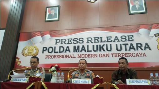 Pemerintah Buat Pemutihan Pajak Kendaraan Pada Saat HUT Maluku Utara Ke 20