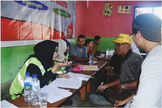 Harita Nickel Beri Pelayanan Kesehatan Gratis ke Desa Soligi