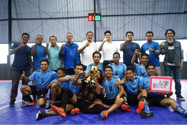 Turnamen Futsal Antar Media Se Maluku Utara, Sukses Diselenggarakan