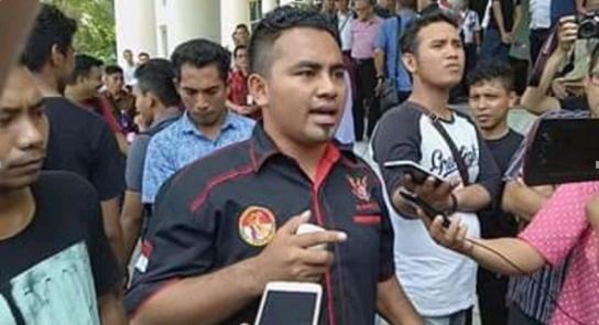 Mahasiswa Obi di Manado Tantang Kajati Malut Ungkap Daftar Penerima Dana CSR PT Harita Group