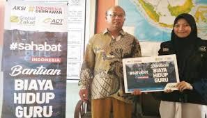 ACT Bantu Kesajahteraan Guru Honorer di Maluku Utara