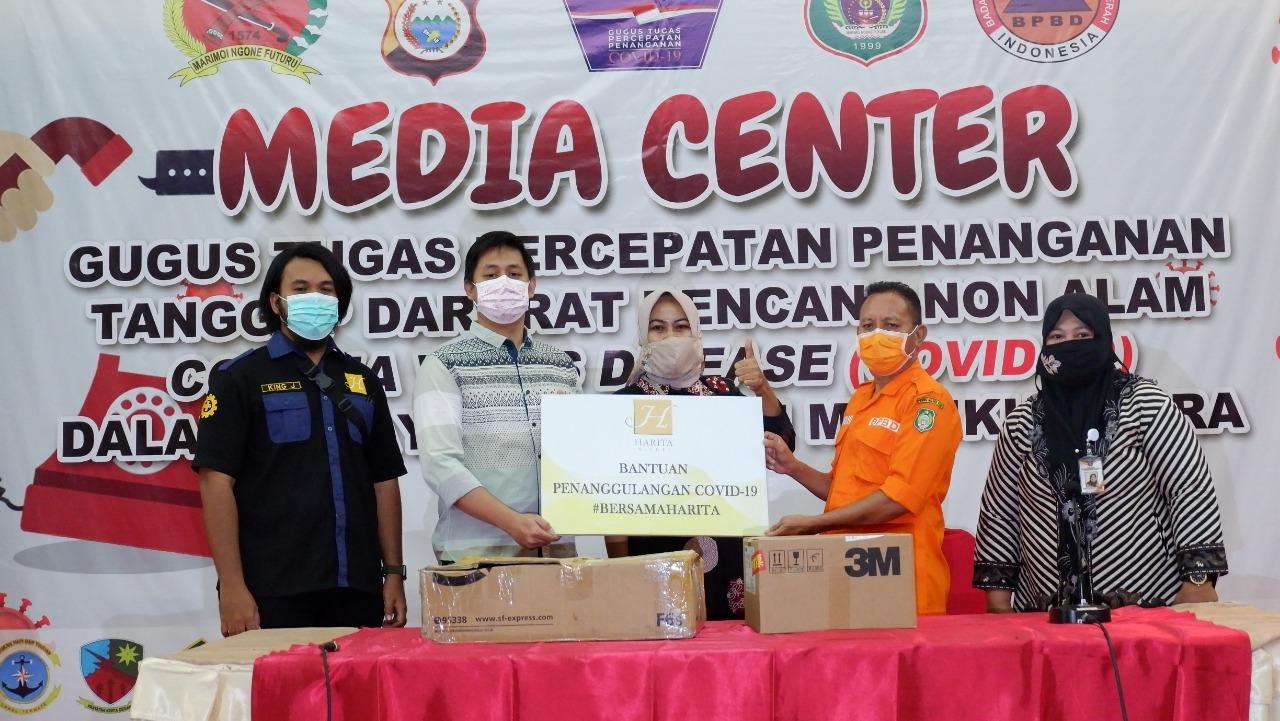 Harita Nickel Serahkan APD Dan Alkes Untuk Pemerintah Maluku Utara