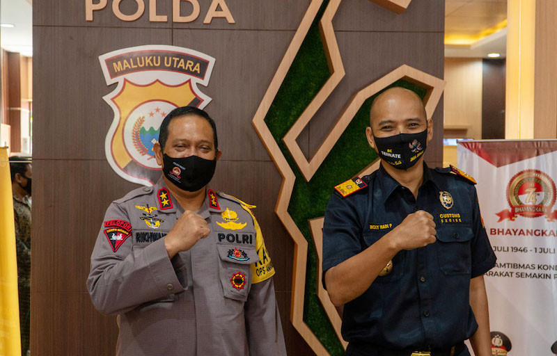 Pandemi Tak Halangi Bea Cukai Kawal Pemulihan Ekonomi di Maluku Utara.
