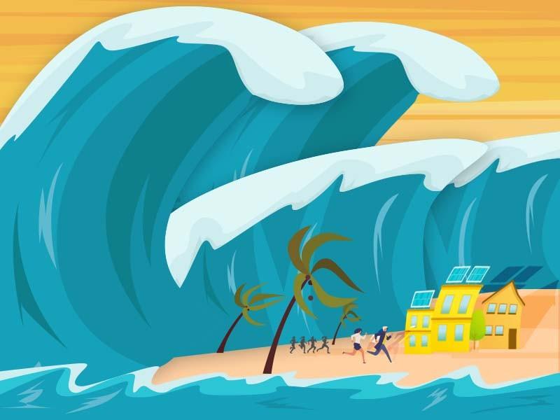 Gelombang Perairan Malut Mencapai 6 Meter