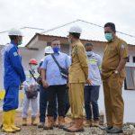 Wabup Halsel Tinjau Kemajuan Pembangunan Pemukiman Baru Desa Kawasi