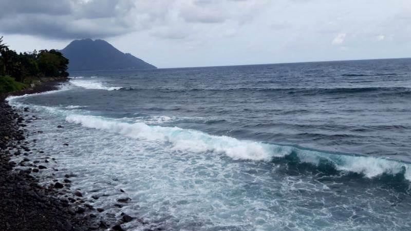 Waspadai Potensi Gelombang Tinggi di Pulau Halmahera